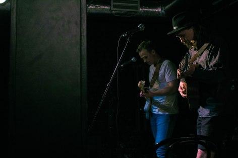 Samoaja (duet) live at Teatra Bars, Riga © Mira Pesonen