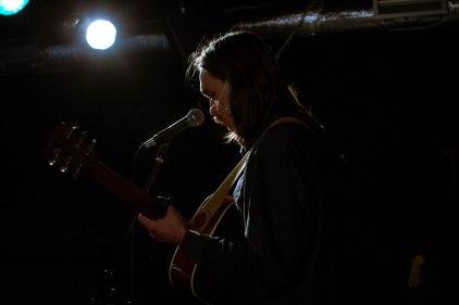 Samoaja (solo) live at Teatra Bars, Riga © Mira Pesonen