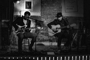 Samoaja (duet) live at Kursas Putni, Liepaja LV © Mira Pesonen