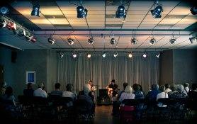 Samoaja (duet) live at Jaunolaines Kulturas Nams, Olaine LV © Mira Pesonen