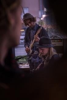 Samoaja (duet) live at Cafe Mimosa, Tampere © Johannes Latva